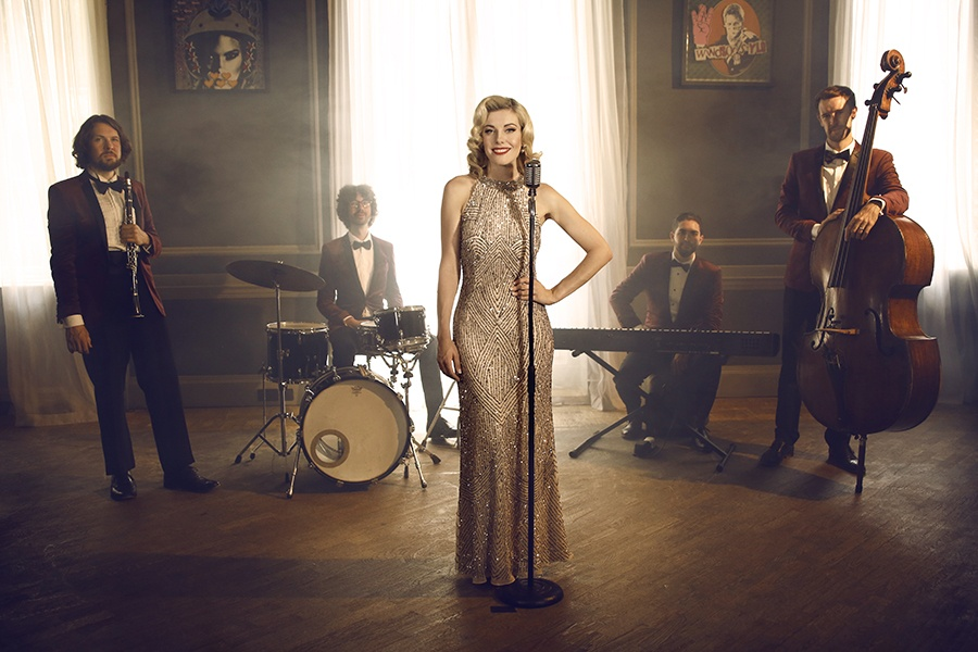 Promo Sarah and The Speakeasy Collective Jazz Band London