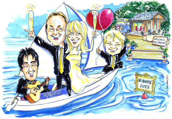 Promo Mark The Caricaturist Caricaturist Devon