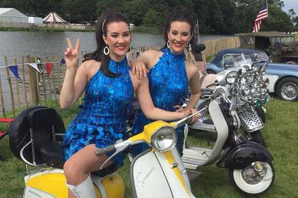 Promo 60s Dance Twins Dance Duo London