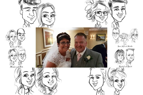 Promo The Pencil Lady Caricaturist Aberdeen area