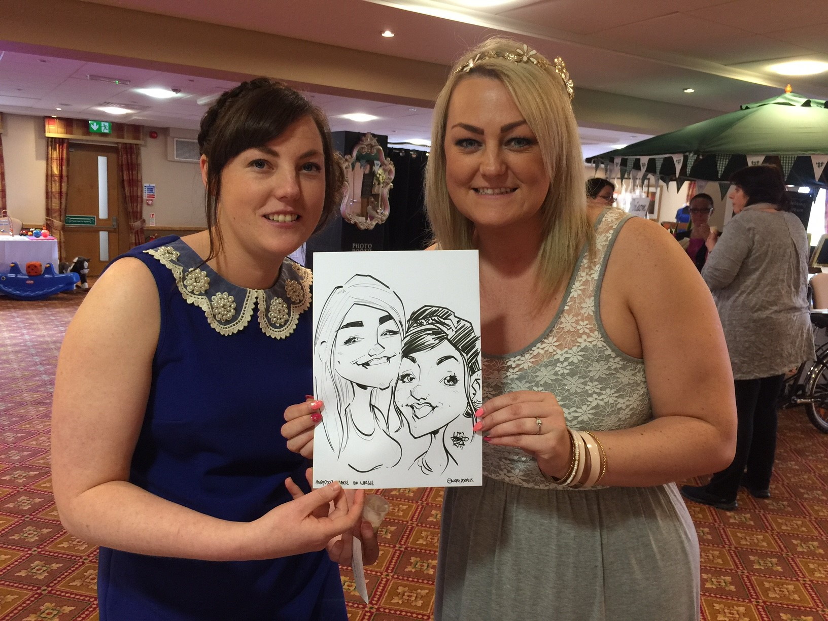 Promo Doodles The Caricaturist Caricaturist West Midlands