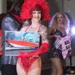 Promo 70s Cabaret Show Circus Performer East Sussex