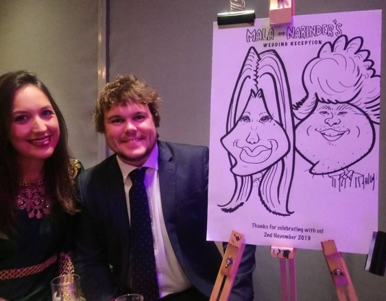 Promo Caricatures by Tom Caricaturist Durham