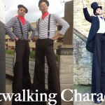 Promo Stilt Walkers Galore Stilt Walking Northamptonshire