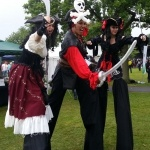 Promo Pirate Stilt Walkers Street Performer Leicestershire