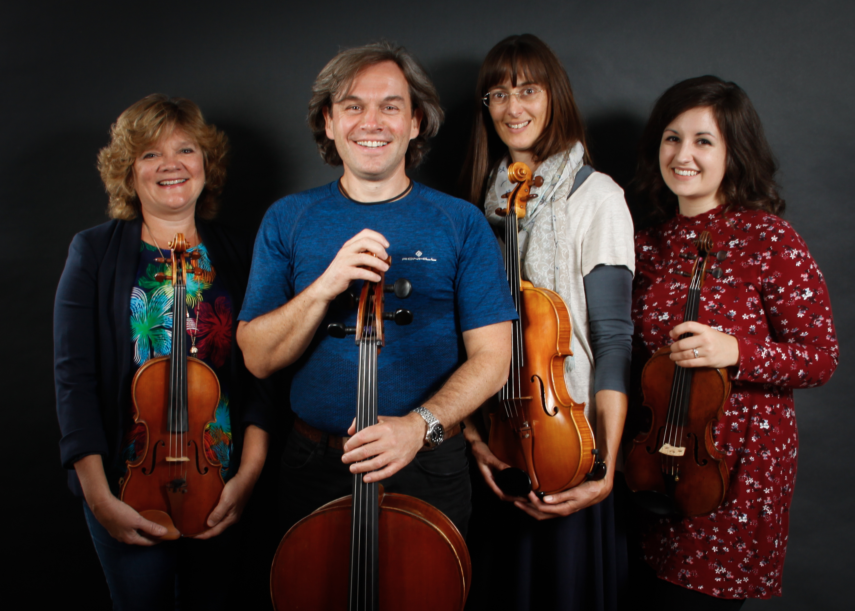 Promo St Swithuns Strings String Quartet Bedfordshire