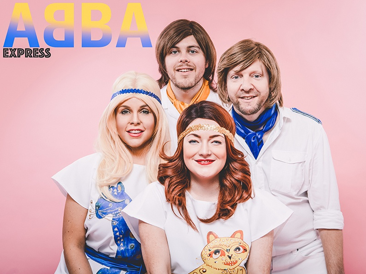 Promo (ABBA) Abba Express Abba Tribute Band West Midlands