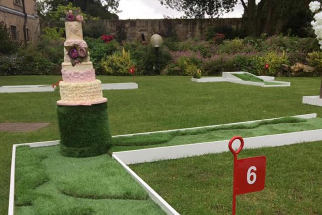Promo Wedding Crazy Golf Crazy Golf Course South Yorkshire