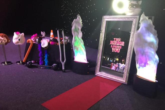 Promo Ace Magic Mirror Selfie Mirror South Yorkshire