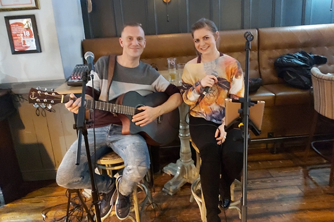 Promo Acoustic Feel Acoustic Duo Greater Manchester