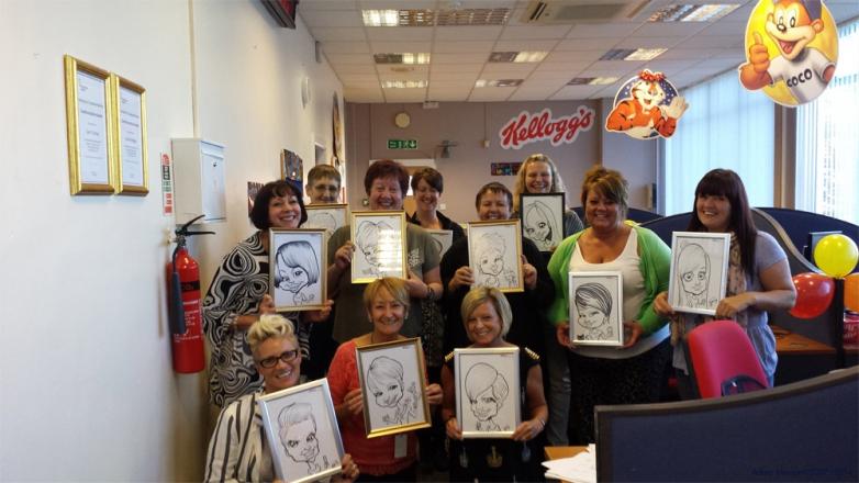 Promo Adam Crazy Caricatures Caricaturist Cheshire