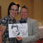 Promo Adam Crazy Caricatures  Warrington, Cheshire
