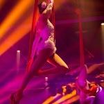 Promo Aerial Silk Displays Circus Performer London
