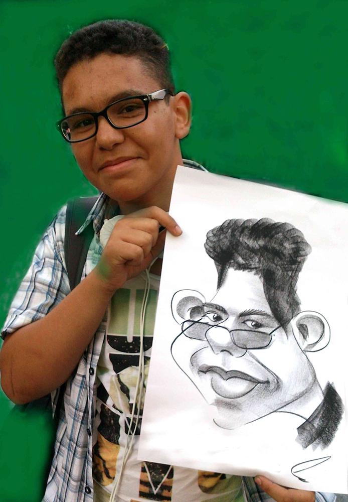 Promo Alex Caricatures Caricaturist London