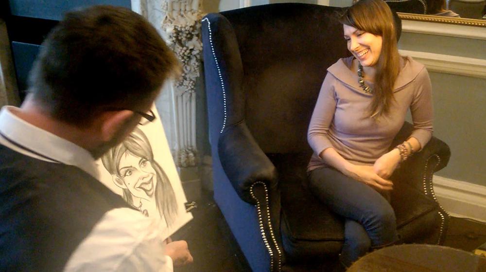 Promo Alex Caricatures Caricaturist Forres, Moray