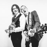 Promo Alex and Jacques Rock and Pop Duo Oxford, Oxfordshire