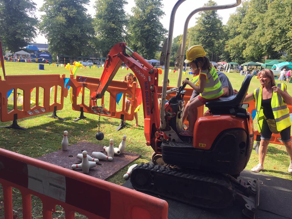 Promo Mini Digger Experience Childrens Entertainer Kent