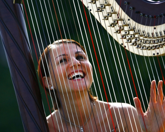 Promo Beautiful Harp Harpist London