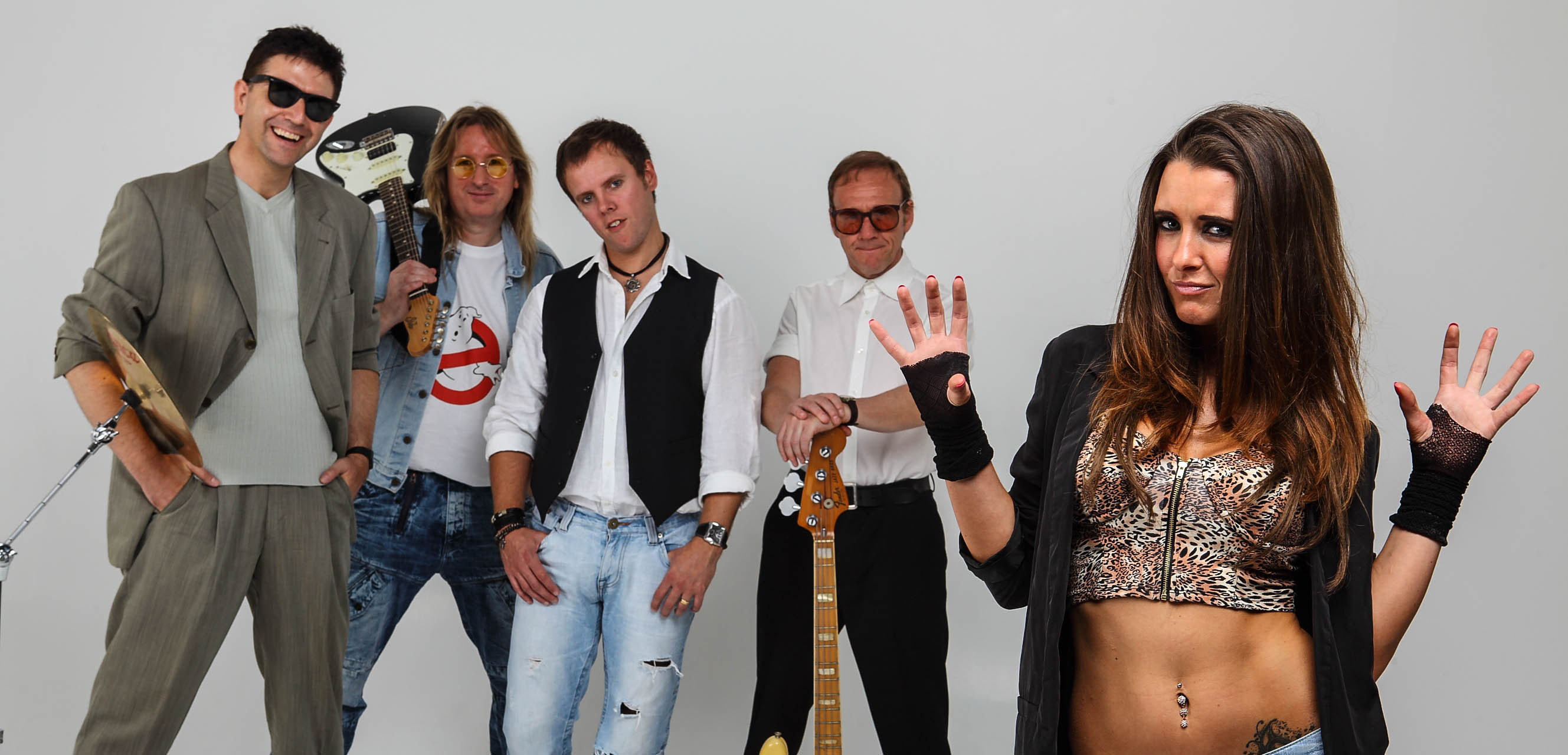 Promo Alive and Kicking 80's Tribute Band Congleton