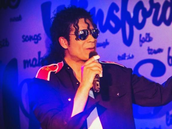 Promo (Michael Jackson) Anthony Edwards Michael Jackson Tribute Act Worcestershire
