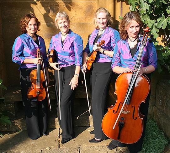 Promo Astor String Quartet  Oxfordshire
