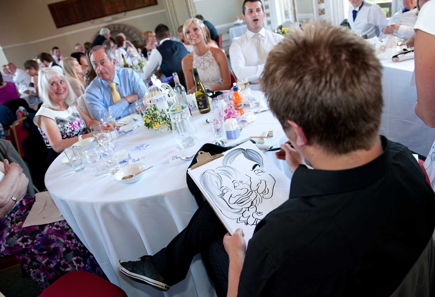 Promo Dave Draws Caricatures Caricaturist West Sussex