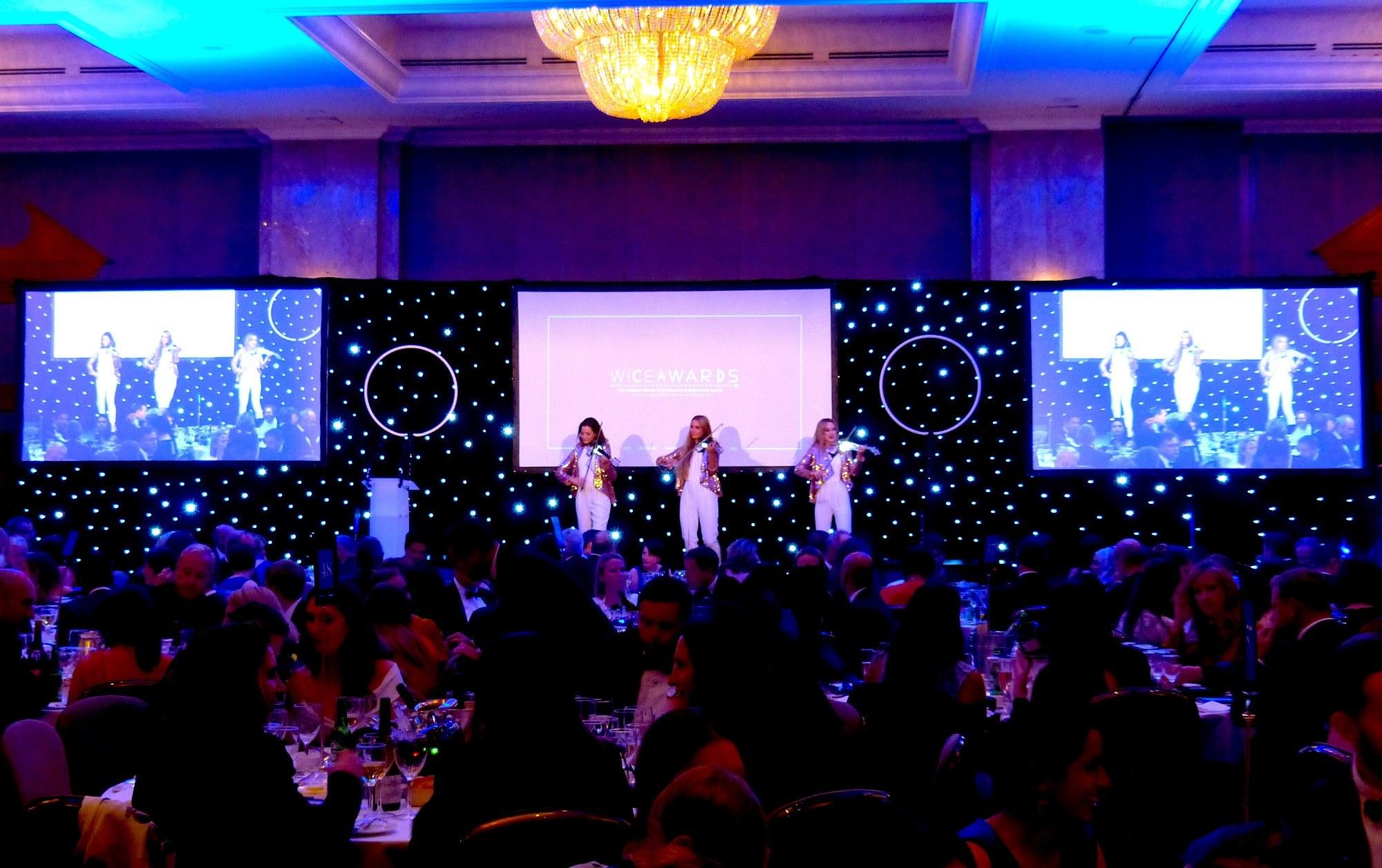 Promo LED Glitter Strings  London