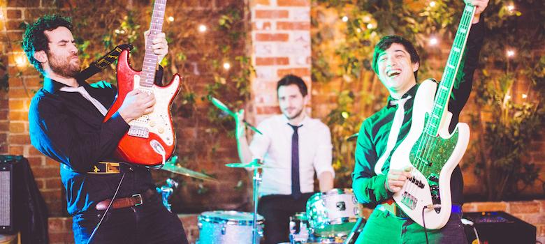 Promo The Wedding Crashers Rock and Pop Trio London