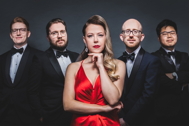 Promo Bella And The Bourbon Boys Vintage Jazz Covers of Pop Songs London