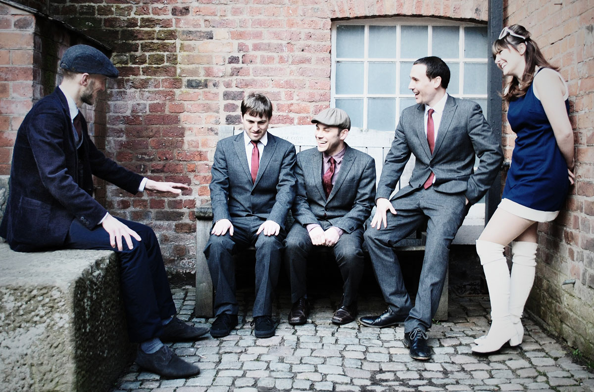 Promo The Firebirds Quirky Cool Vintage Band Greater Manchester