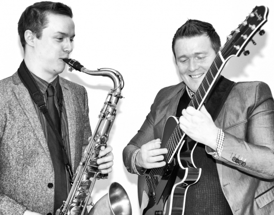 Promo One OClock Jump Jazz Duo West Yorkshire