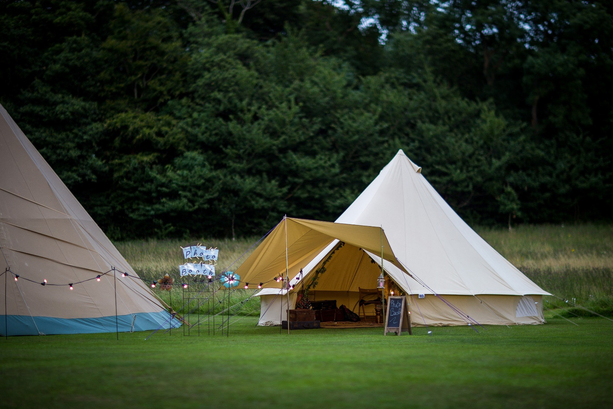 Promo Bell Tent Photo Booth  Leicestershire