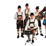 Promo Bier Stein Oompah Band Bavarian Style Oompah Band Kent