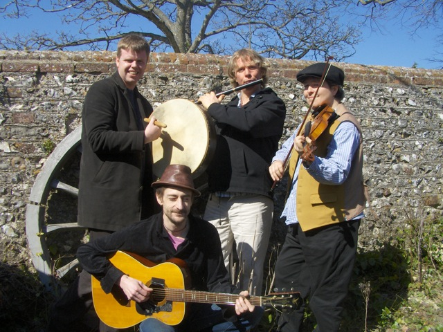 Promo Scatter The Mud Ceilidh Band East Sussex