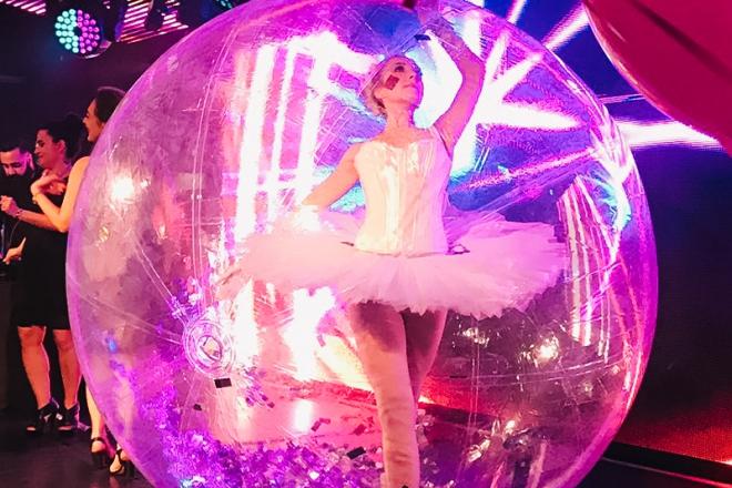 Promo Bubble Ballerina Unique Ballerina Act Kent