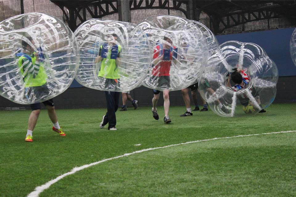 Promo Bubble Football Giant and Outdoor Games Cambridgeshire