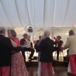 Promo Burgundy Boater Band  Hampshire
