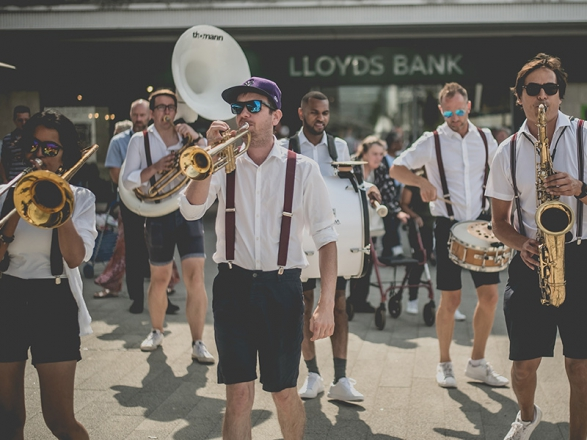 Promo Brace Yourself Brass Brass Band London