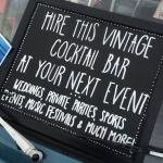 Promo Campervan Cocktail Bar Mobile Cocktail Bar Farnham, Surrey