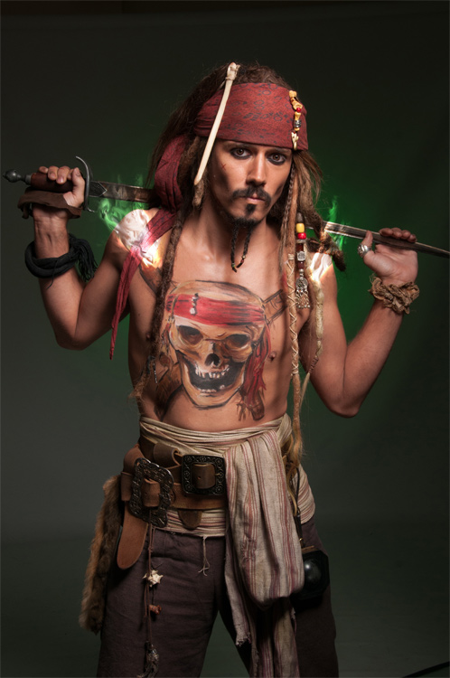 Promo Captain Jack Sparrow Lookalike Lookalike West Sussex