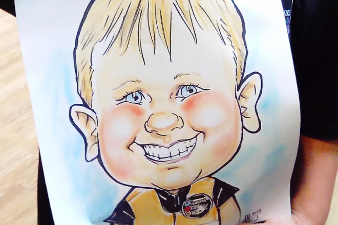 Promo Cartoon Caricatures Caricaturist London