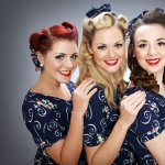 Promo The Harmony Sisters 1940's Vocal Harmony Trio Middlesex, London