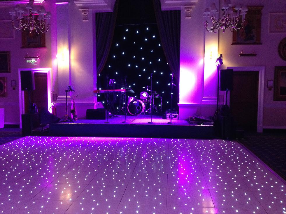 Promo The Starlit Dance Floor Dance Floor Hire Merseyside