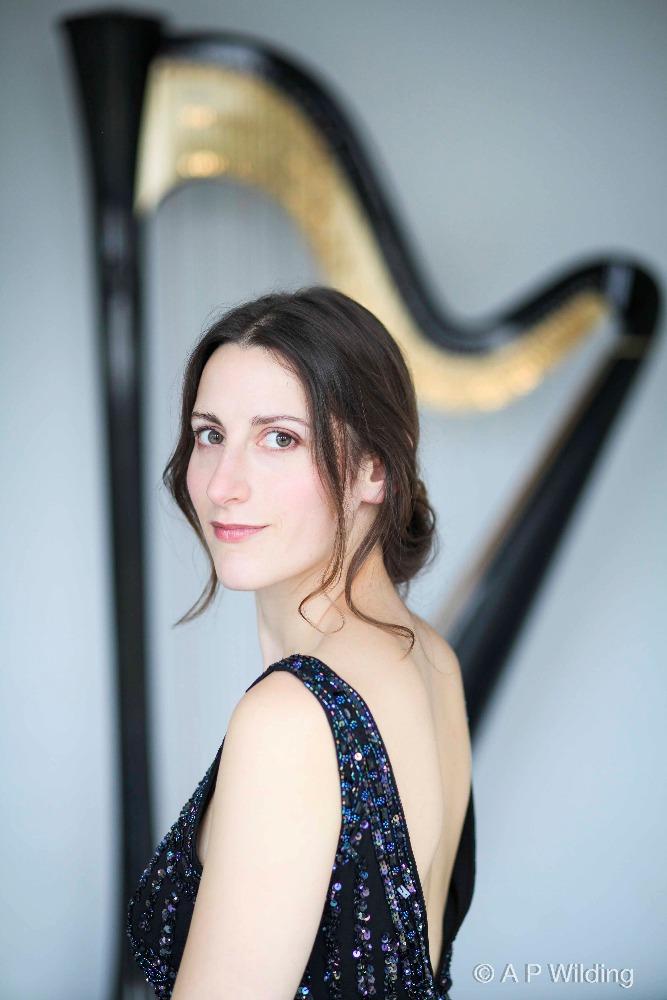 Promo Cecile Harpist  London