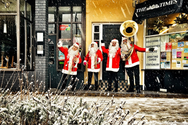 Promo Christmas Brass Christmas Brass Quartet London