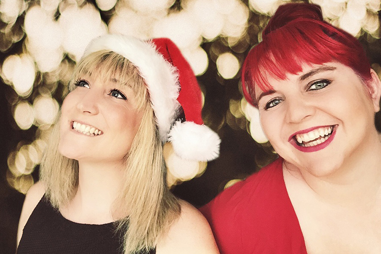 Promo Christmas Sounds Festive Music Piano and Singer Duo Surrey
