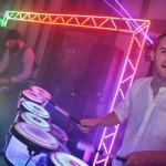 Promo Light Up Your Night DJ with LED Saxophonist and Percussionist Rishworth, West Yorkshire