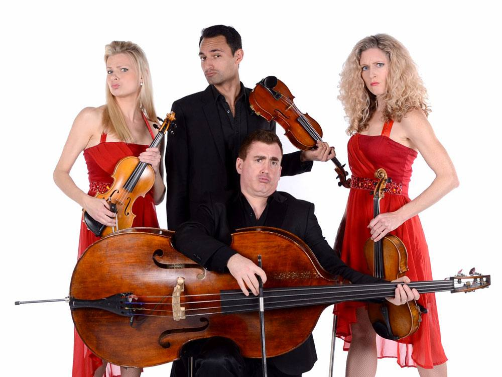 Promo Comedy String Quartet String Quartet London