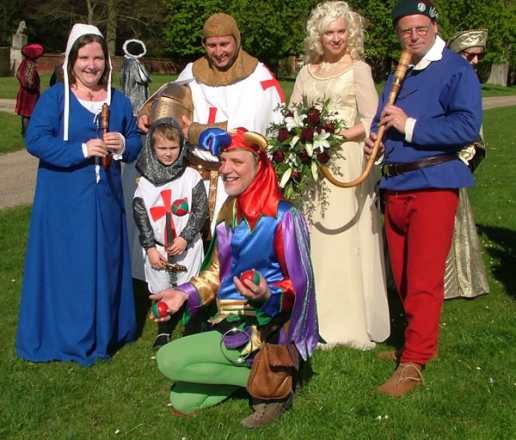 Promo The Kings Waits Medieval Musician Norfolk
