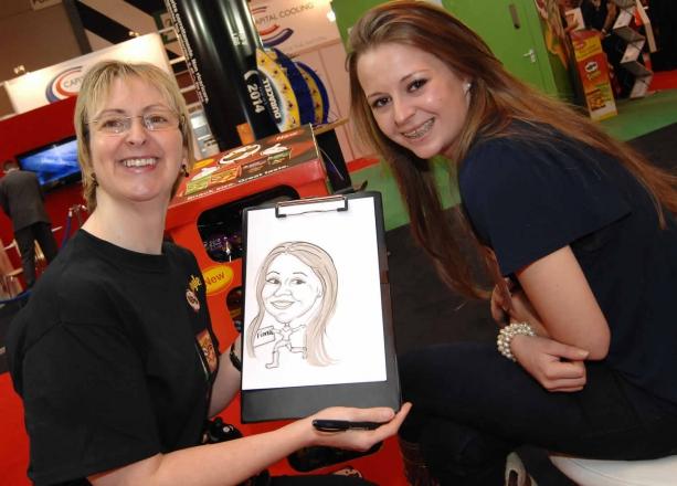 Promo C R Caricatures Caricaturist Shropshire